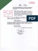 Francisca Chura reitera a Fiscalía que programe diligencia de constatación