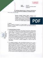 Saturnino Pacheco Estaca- Agraviado solicita a Fiscalía Ambiental cambio de fiscal