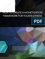 How to Create a Monetization Framework for your Digital Business