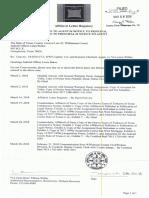 Affidavit Letter Rogatory_March 28, 2018 Listing Court Filings