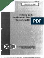 1971 Aci 318 Code