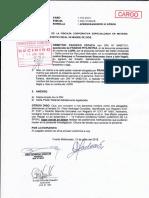 Francisco Pita Reyna- Agraviado nombra a Francisco Pita representante legal