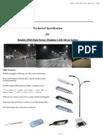 LED Street Lights Data Sheet
