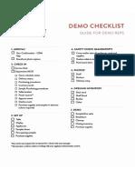 flavfan  demo procedures checklist - dec 4 2018 - 11-54 am