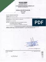 Jorge Minga Huayto-Fiscalía Ambiental declara improcedente investigación preparatoria