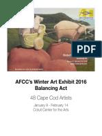 Program Winter Art 2016