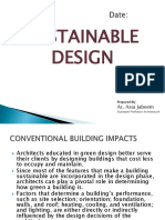 Sustainable Design Lecture # 03
