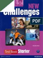 1new Challenges Starter Test Book