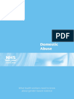 Domestic-Abuse - What Health Workers Need to Know About Gender-based Violence