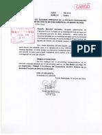 Francisca Chura Terrazas-Agraviado reitera acumulación de carpetas de investigación a Fiscalía Ambiental