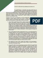Consejos Del Comite Editorial a Los Aficionados Que Publiquen Por Primera Vez