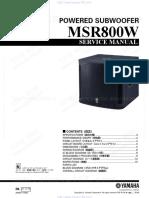 msr800w