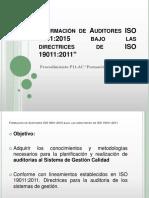 Formación de Auditores ISO 9001