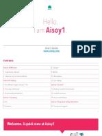 Aisoy1 KIK User Manual