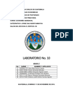 LABORATORIO ECONOMIA GERENCIAL