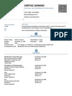 DR. Mak,  Resume, Bio Data, C.V,  Curriculum Vitae
