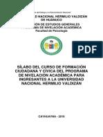 Formacion Ciudadana y Civica