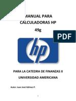 Manual Para Calculadoras Hp 49 g