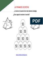 Las Piramides Secretas 4 Alturas Completar Editable