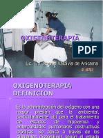 Oxigenoterapia Uti