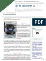 - - - - El Rincón de Soluciones Tv - - - -_ JVC CA-MXJ30 Servicio Al Mecanismo de Discos