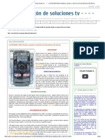 - - - - El Rincón de Soluciones Tv - - - -_ LG MCV903-A0U Puesta a Punto y Servicio Al Mecanismo de Discos