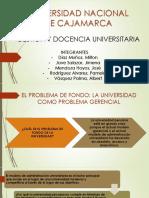 Problema de Fondo de La Universidad