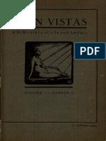 Open Vistas Vol. 1, No. 1 (January-February 1925)