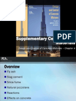 EB001 CH4 - Supplementary Cementitious Materials