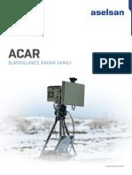 acar radar datasheet