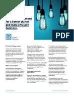 UK I LR Energy ISO 50001 Gap Analysis Factsheet