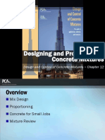 EB001 CH12 - Designing and Proportioning Concrete Mixtures