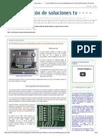 - - - - El Rincón de Soluciones Tv - - - -_ LG CD-964A No Hay Encendido_Reparación Del Transformador de Fuente
