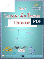 EXAMENS Corriges thermochimie