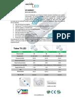 Tubos T8 Sensor