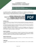 Criterios Generales Convocatoria de Proyectos Culturales PEF 2019 (26nov2018)