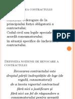 6.5.Revocarea Contractului