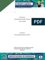 AA8 Evidencia 3 Infografía Estrategia Global de Distribución