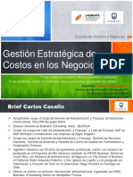 GESTION ESTRATEGICA DE LOS COSTOS