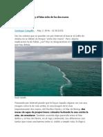 El Golfo de Alaska y El Falso Mito de Los Dos Mares