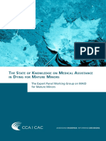 The State of Knowledge on Medical Assistance in Dying for Mature Minors