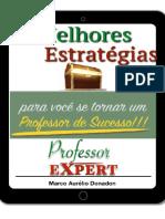 A Melhor Estratégia Para Você Se Tornar Um Professor de Sucesso