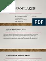 PPT Imun imunoprofilaksis
