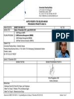 Karu tes pendaftaran MM