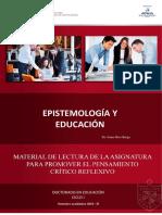 Epistemología y Educación