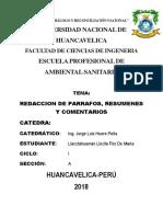 Monografia Del Parrafo