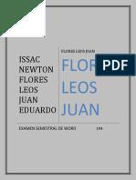 Flores Leos Juan Eduardo 104 Semestral 1