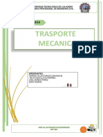TRANSPORTE MECANICOS-INSTALACIONES