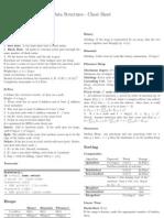 Data Structures Cheat Sheet