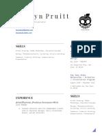 copy of resume - creative